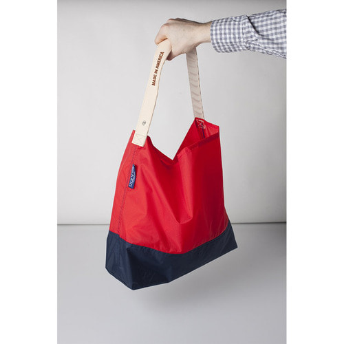 "[JULYNINE] Two Tone 24"" (Red x Navy)"