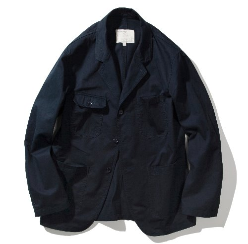 [POTTERY] Tailored Coverall Jacket (Navy)