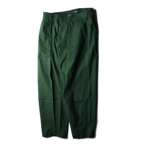 [BEHEAVYER] Wide Fatigue Pants (Green)