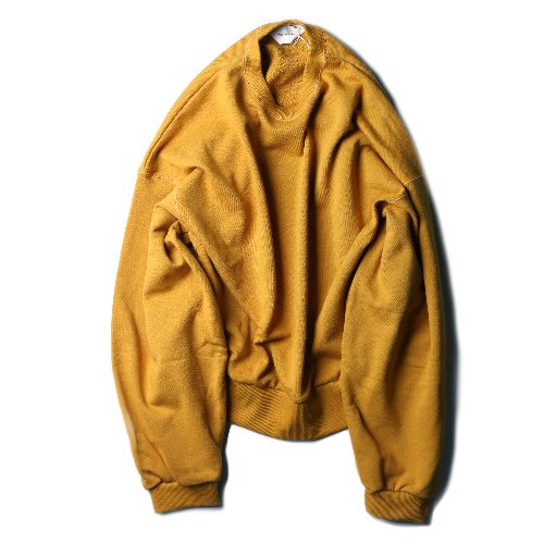 [wonderland] Crewneck Sweat (Mustard)