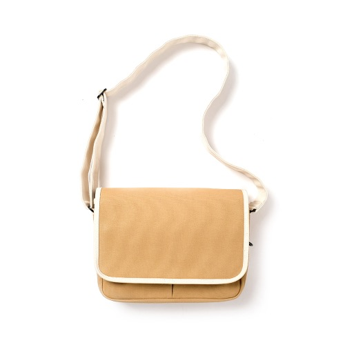 [MAZI UNTITLED] Small Runner's bag (Tan/Ecru)