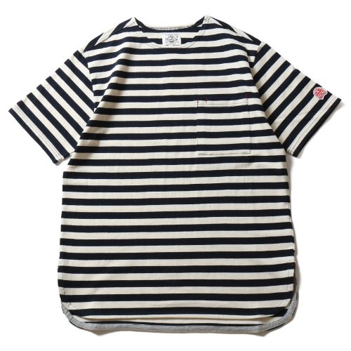 [HORLISUN] Union Short Sleeve Pocket T-shirts SU Seasonal (Navy)