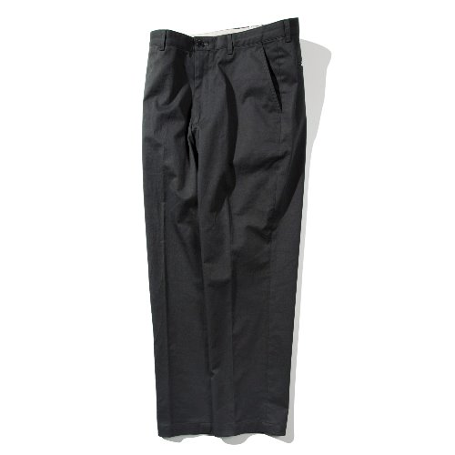 [POTTERY] Washed Tapered Pants (Dark Grey)