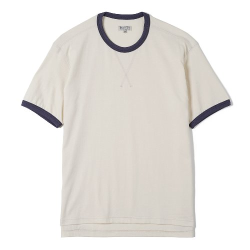 [BANTS] FLB Cotton Round Neck T-shirt Half (Oatmeal)
