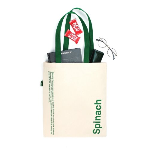 [Cookery] Spinach Tote Bag (Green)