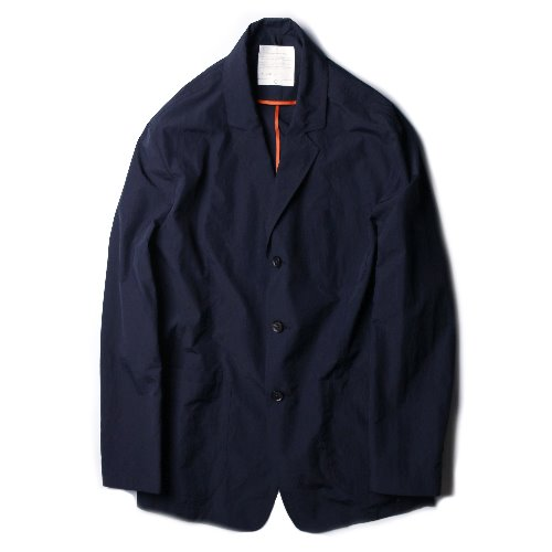 [Ourselves] NYLON EASY TROPICAL JACKET (Navy)