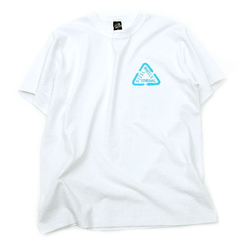 [STEELWHEELS] REFLECTIVE T SHIRT (White)