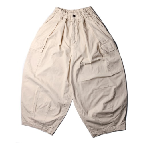 [harvesty] Circus Cargo Pants (Ivory)