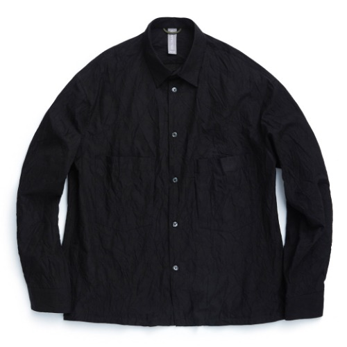 [UNAFFECTED] Oversized Shirt (Black)