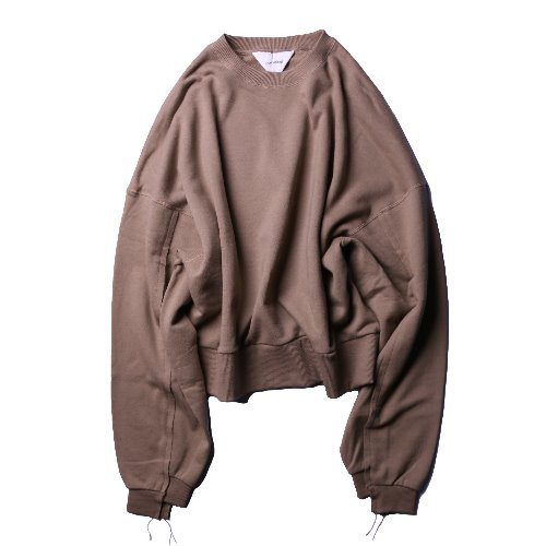 [wonderland] Sweat (Brown)