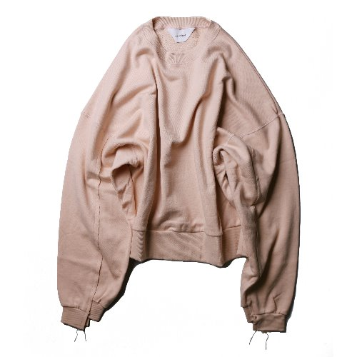 [wonderland] Sweat (Pink Beige)