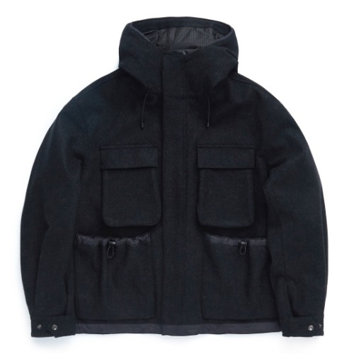 [UNAFFECTED] Functional Field Parka (Charcoal)