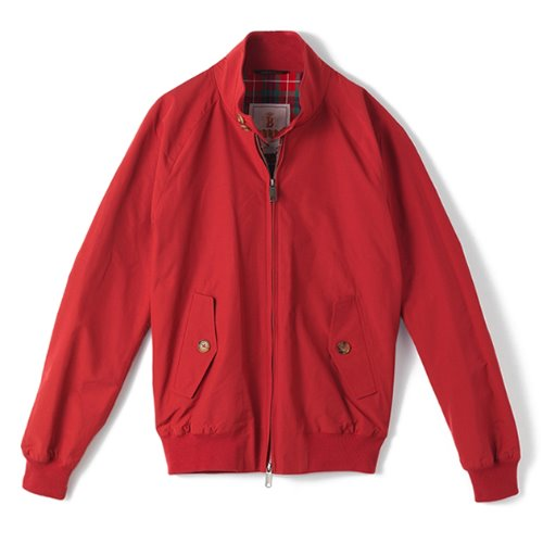 [BARACUTA] G9 Original Jacket (Dark Red)
