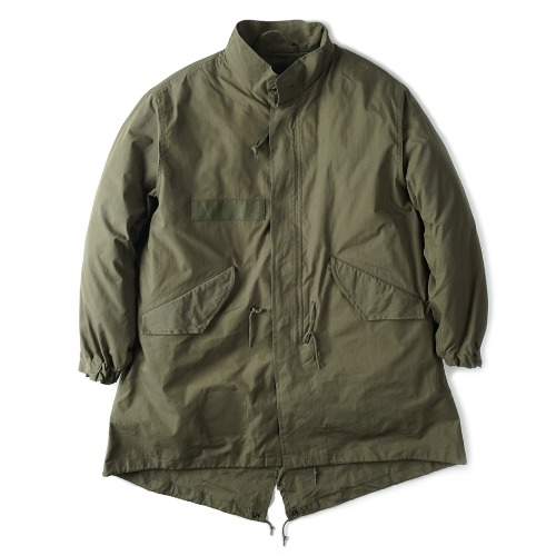 [YMCL KY] US Type M-65 Field Parka One Wash (Olive)