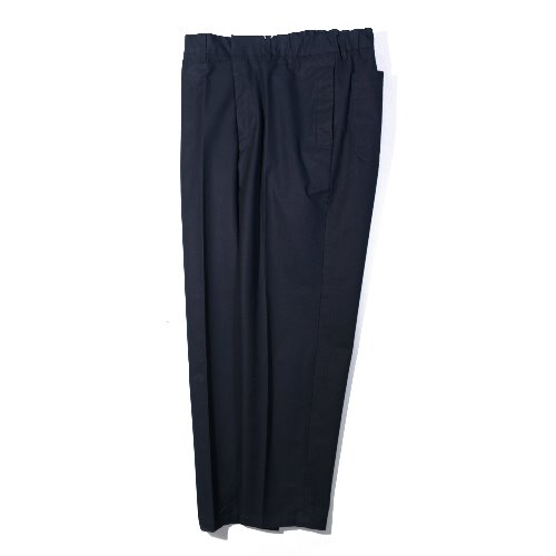 [STILL BY HAND] Cotton Tapered Pants (Navy)