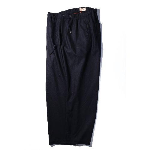 [ourselves] Fine Wool Slumber Pants (Navy)