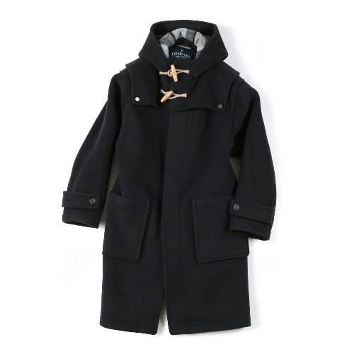 [SHIRTER] Detachable Duffle Coat (Dark Navy) [LONDON TRADITION for SHIRTER ]