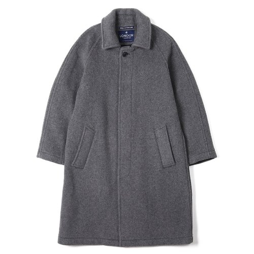 [LONDON TRADITION] Mens R06 Fly Front Coat (Light Grey)