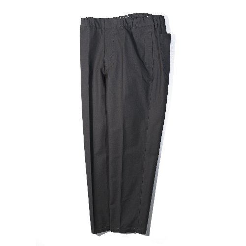 [STILL BY HAND] Cotton Tapered Pants (Charcoal)