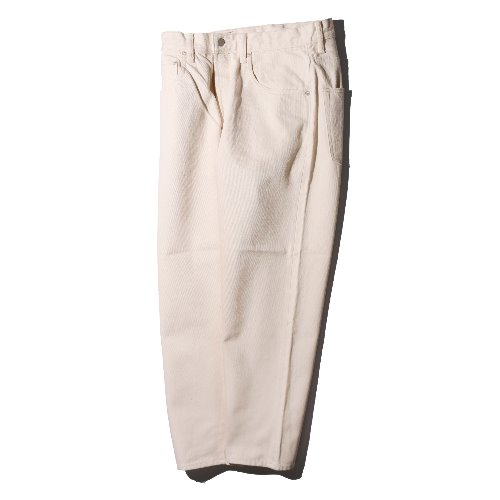 [HATSKI] Loose Tapered Pants (Ecru)