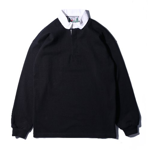 [Columbiaknit] Solid Rugby (Black)