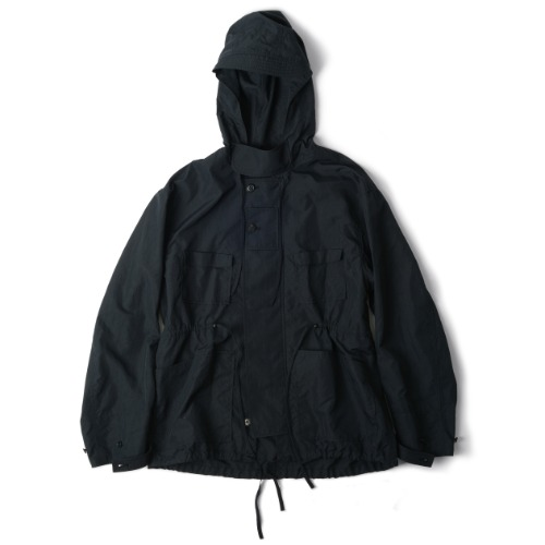 [polyteru] Hooded Parka (Navy)