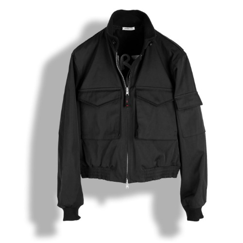 [BIRTHDAYSUIT] 20SS Reversible G8 Flight Jacket (Black)