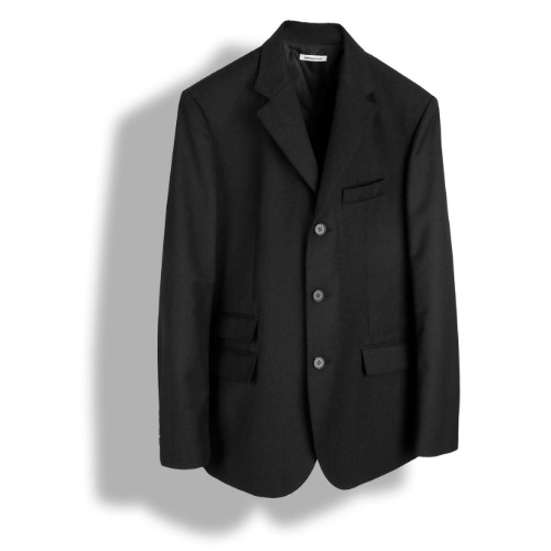 [BIRTHDAYSUIT] 20SS Mods Blazer (Black)