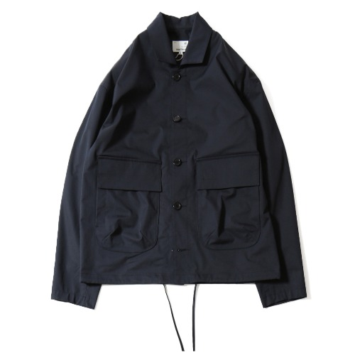 [HORLISUN] Capital Light Weight Drop Shoulder functional Jacket (Navy)