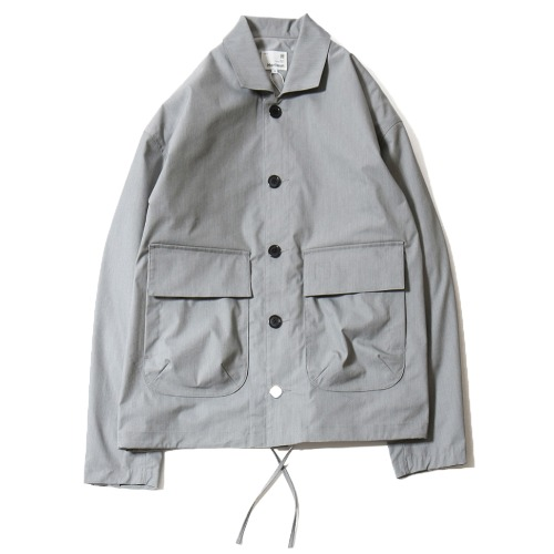[HORLISUN] Capital Light Weight Drop Shoulder functional Jacket (Gray)
