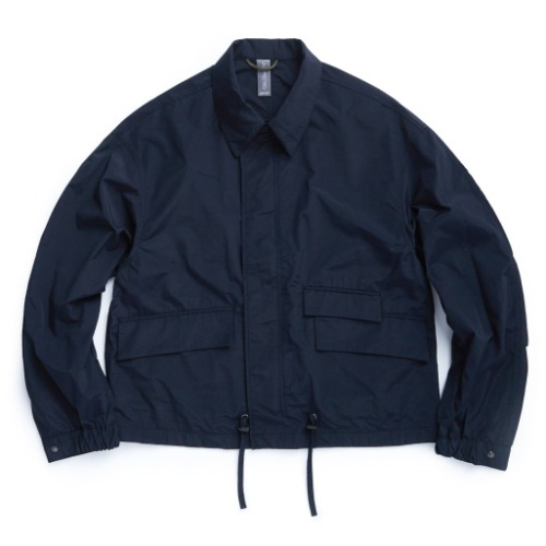 [UNAFFECTED] Utility Oversized Blouson (Navy)
