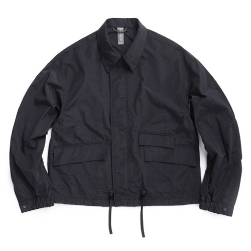 [UNAFFECTED] Utility Oversized Blouson (Charcoal)