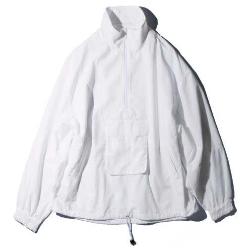 [wonderland] Half Zip Blouson (White)