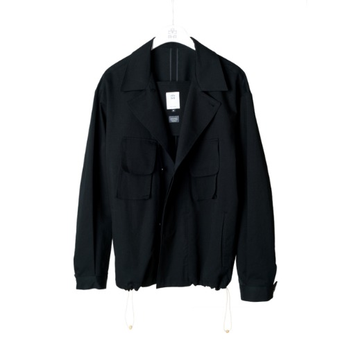 [polyteru] Balloon Jacket (Black)
