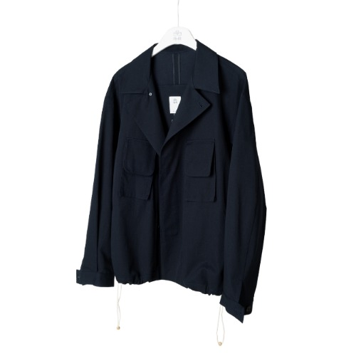 [polyteru] Balloon Jacket (Navy)