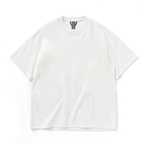[UNAFFECTED] Logo Label T-Shirt (White)