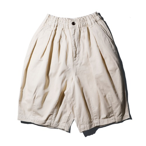 [harvesty] Circus Short Pants (Ivory)