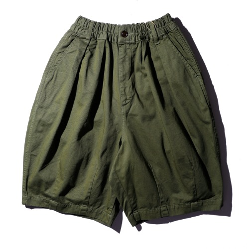 [harvesty] Circus Short Pants (M.Green)
