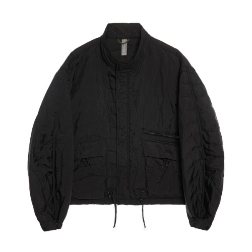 [UNAFFECTED] Multi Quilted Blouson (Black) Pre-Order