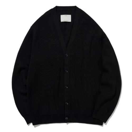[POTTERY] Comfort Cardigan (Black)