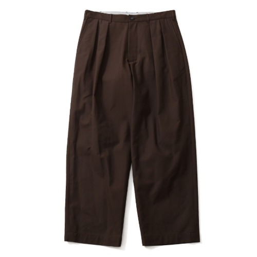 [HORLISUN] Corinth Wide Loose Pants (Chestnut Brown)