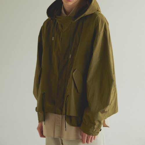 [Art if acts] Half Reversible Waterproof Fishtail Shield (Olive)