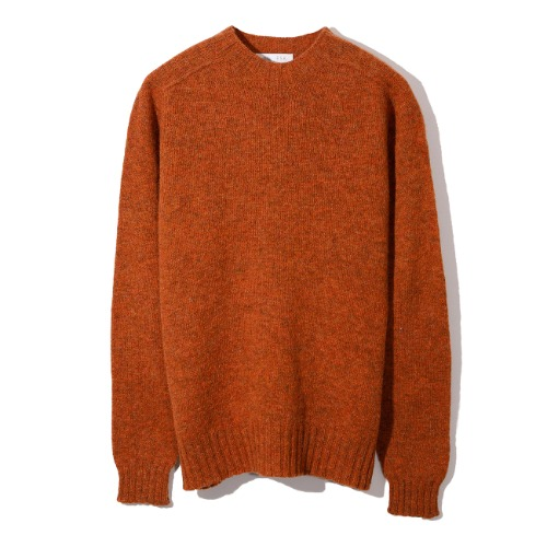 [Esk Valley Knitwear] Andy Seamless Shetland (Ember)