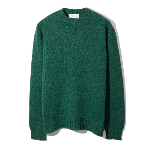 [Esk Valley Knitwear] Andy Seamless Shetland (Clover Leaf)