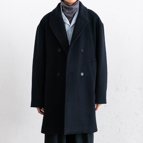 [polyteru] Pea Coat (Navy)