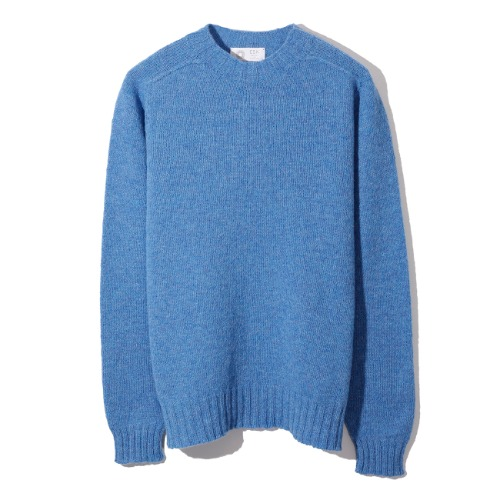[Esk Valley Knitwear] Andy Seamless Shetland (Cornflower)
