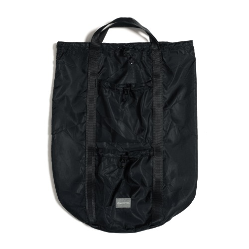 [UNAFFECTED] Logo Label Sling Bag (Black)