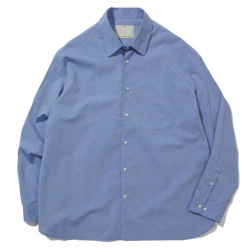 [POTTERY] Wide Shirt (Blue)