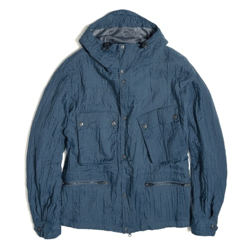 [UNAFFECTED] Rider Short Parka (Charcoal Blue)