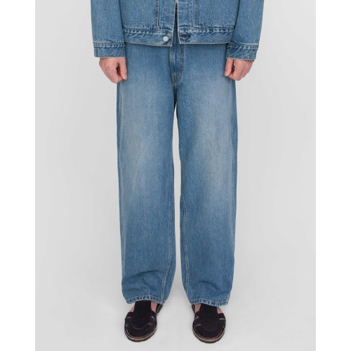 [MATISSE THE CURATOR] Wide Denim Pants (Washed)